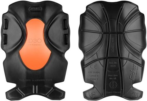 Snickers XTR kniebeschermers Zwart-Oranje