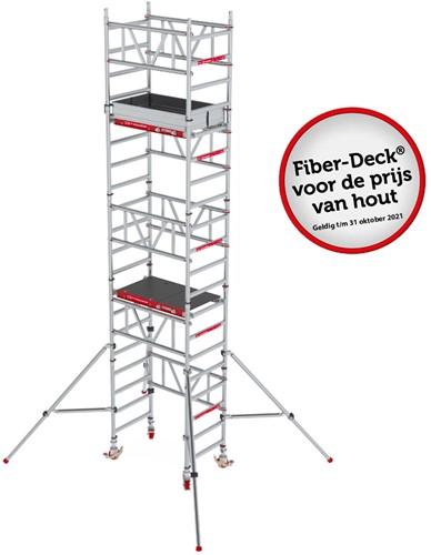 Altrex MiTower Rolsteiger 6,2 Mtr 60x102cm Houten Deck