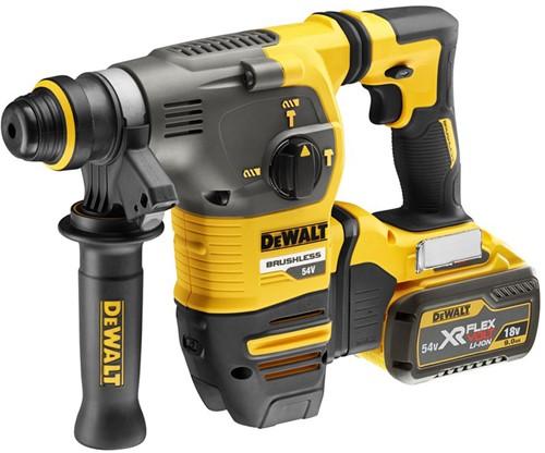 Dewalt DCH333X2 54V XR Flexvolt SDS+ Combihamer 30mm (TSTAK, 2x9,0Ah)