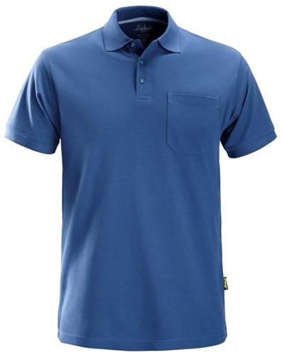 Snickers Classic Polo Shirt Kobalt Blauw M