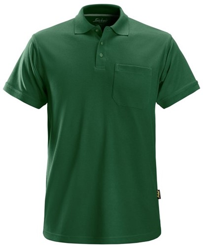 Snickers Classic Polo Shirt Groen S