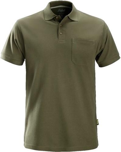 Snickers Polo Shirt Donker Groen XXL