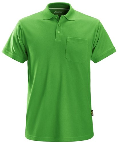 Snickers Polo Shirt Groen L