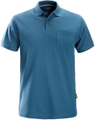 Snickers Polo Shirt Oceaan Blauw L