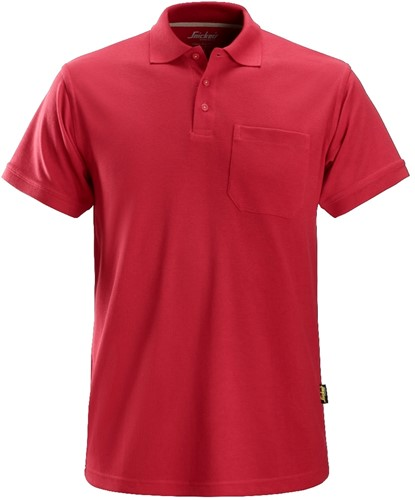 Snickers Polo Shirt Rood XXXL