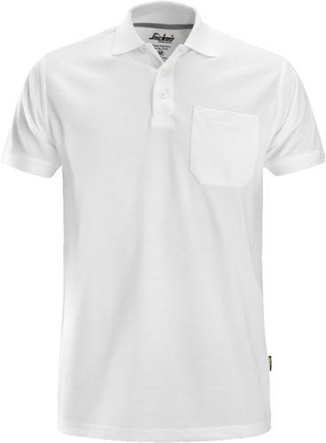 Snickers Polo Shirt Wit XS