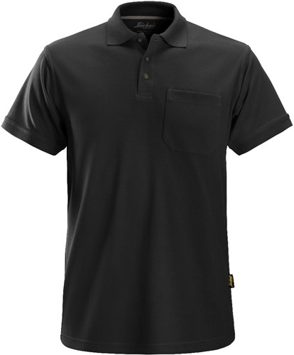 Snickers Polo Shirt Zwart S